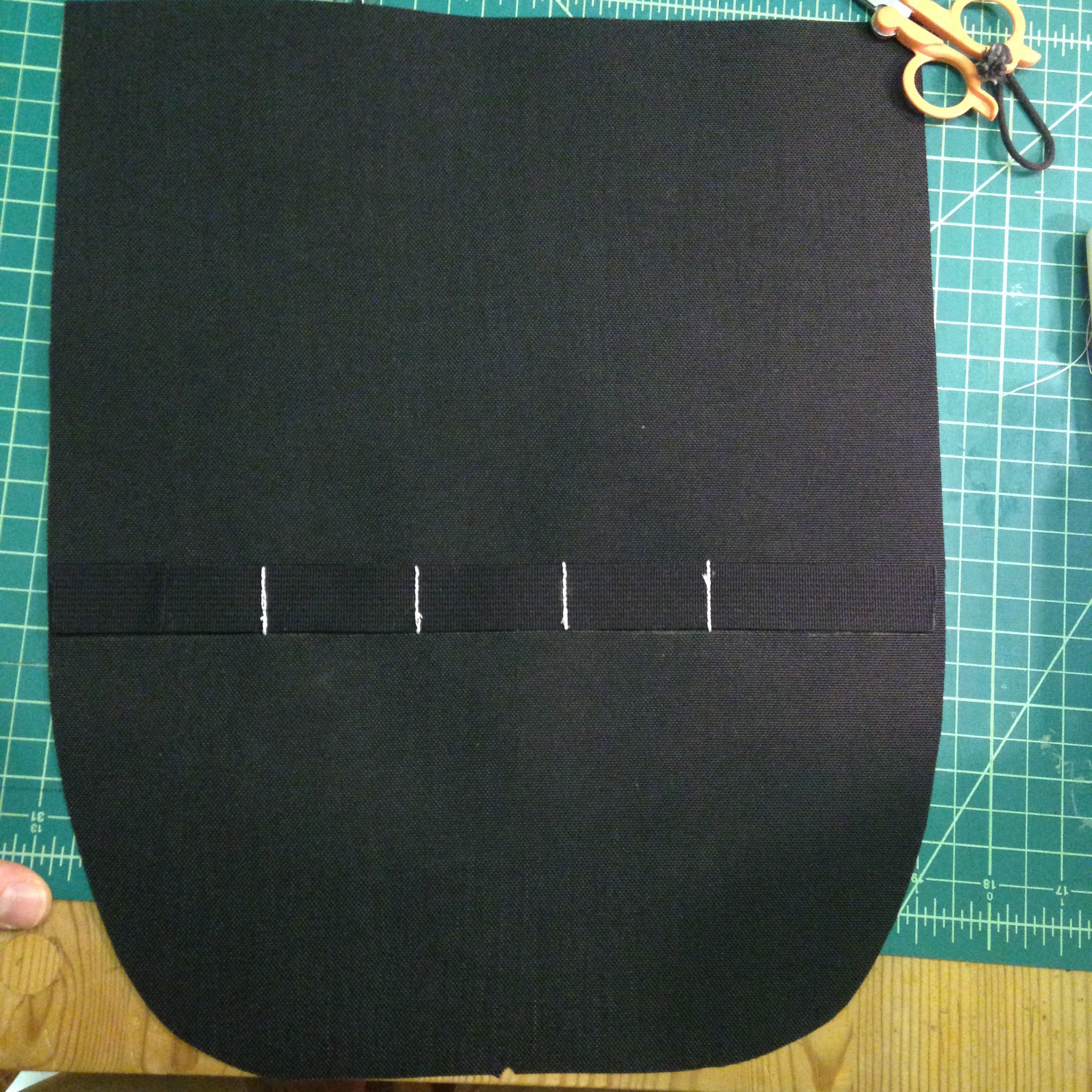 Picture of Attach Pieces to Back Panel