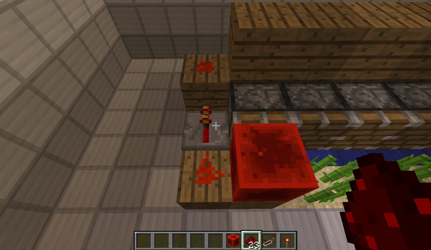 Picture of Redstone and Pistons!