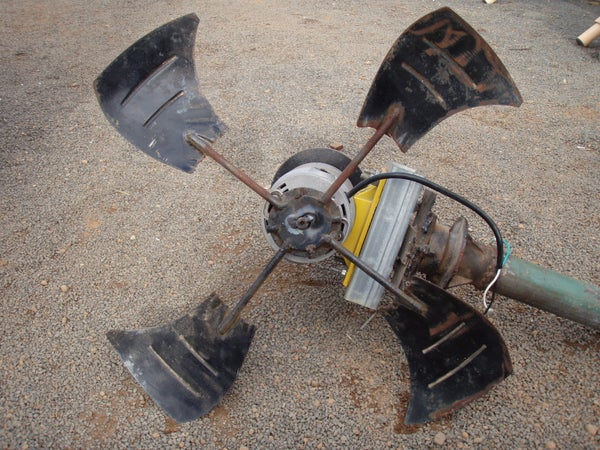 How To- Wind Turbine Made From Scrap Metal...