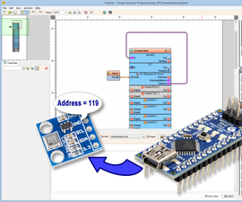 Scan the Arduino I2C Bus for Connected I2C Devices With Visuino