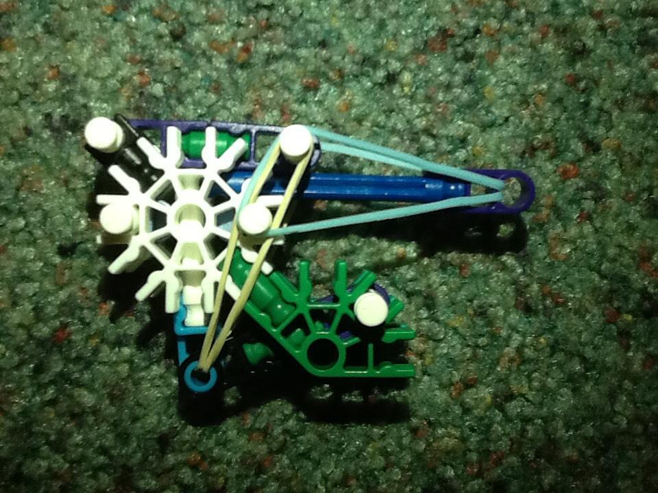 Picture of 23 Piece True Trigger K'NEX Gun