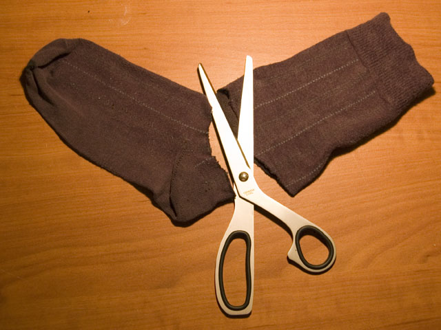 Picture of Cutting the Socks