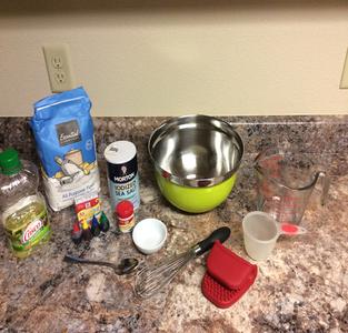 Homemade Microwave Playdough