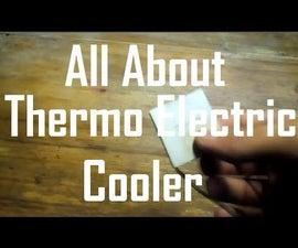 Peltier Cooler/Thermo Electric Cooler