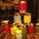 Christmas Pails/Lanterns/Gift Cans (Recycle)