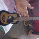 childs mini guitar