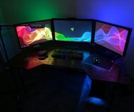 Custom Gaming Desk