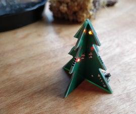 $1 PCB Christmas Tree