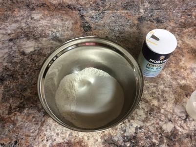 Adding the Salt
