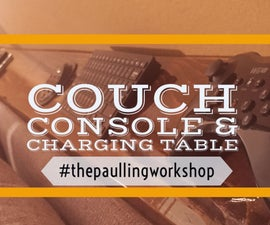 Couch Console & Charging Table
