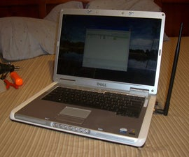 Dell Laptop WI-FI High Gain Antenna Mod, Increase Internal Network Cards Range and Signal !!!
