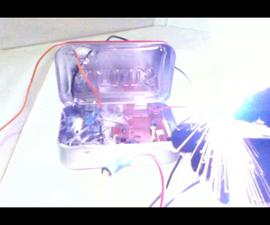 DIY Tazer/Stun glove *With Altoids Case