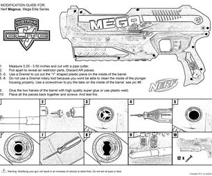Nerf MAGNUS Mod