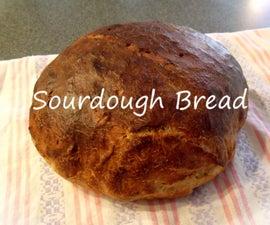 Sourdough Bread From a Starter