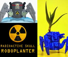 Radioactive Skull Robo-Planter (using Tinkercad!)