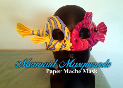 Mermaid Masquerade Mask