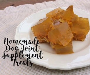 Homemade Dog Joint Supplement Treat All Natural