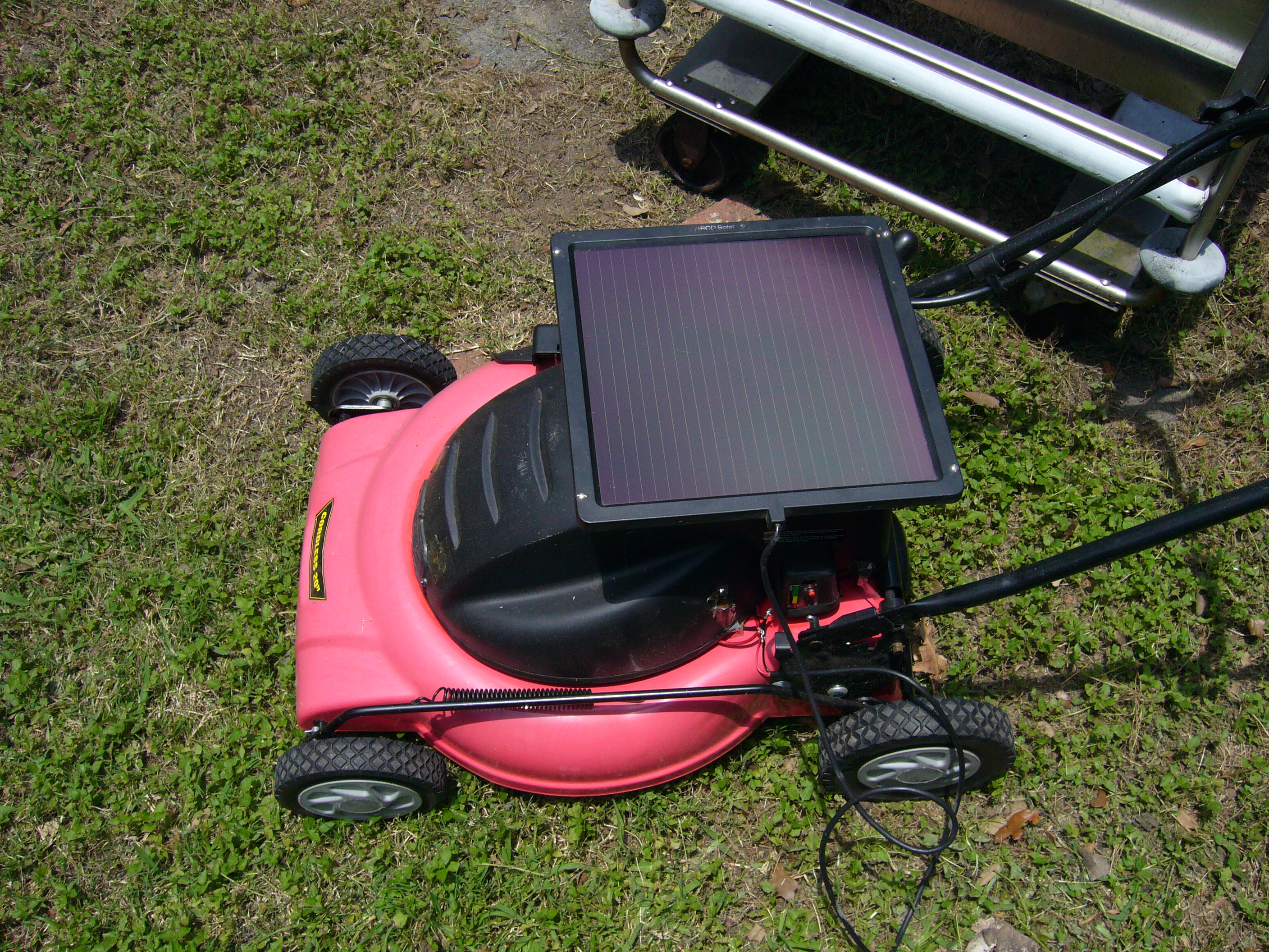 Picture of Solar Lawn Mower