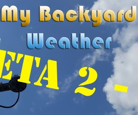 My Backyard Weather - Beta 2