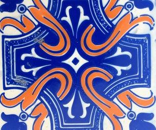 3D Printing Portuguese Azulejo Tiles