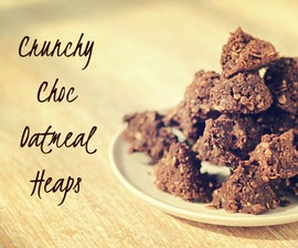 Chocolate Oatmeal Heaps