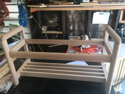 Adding Bottom Support Otherwise Known As a Shelf