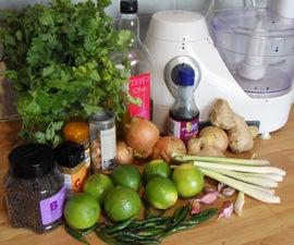 Green Thai Curry Paste Recipe