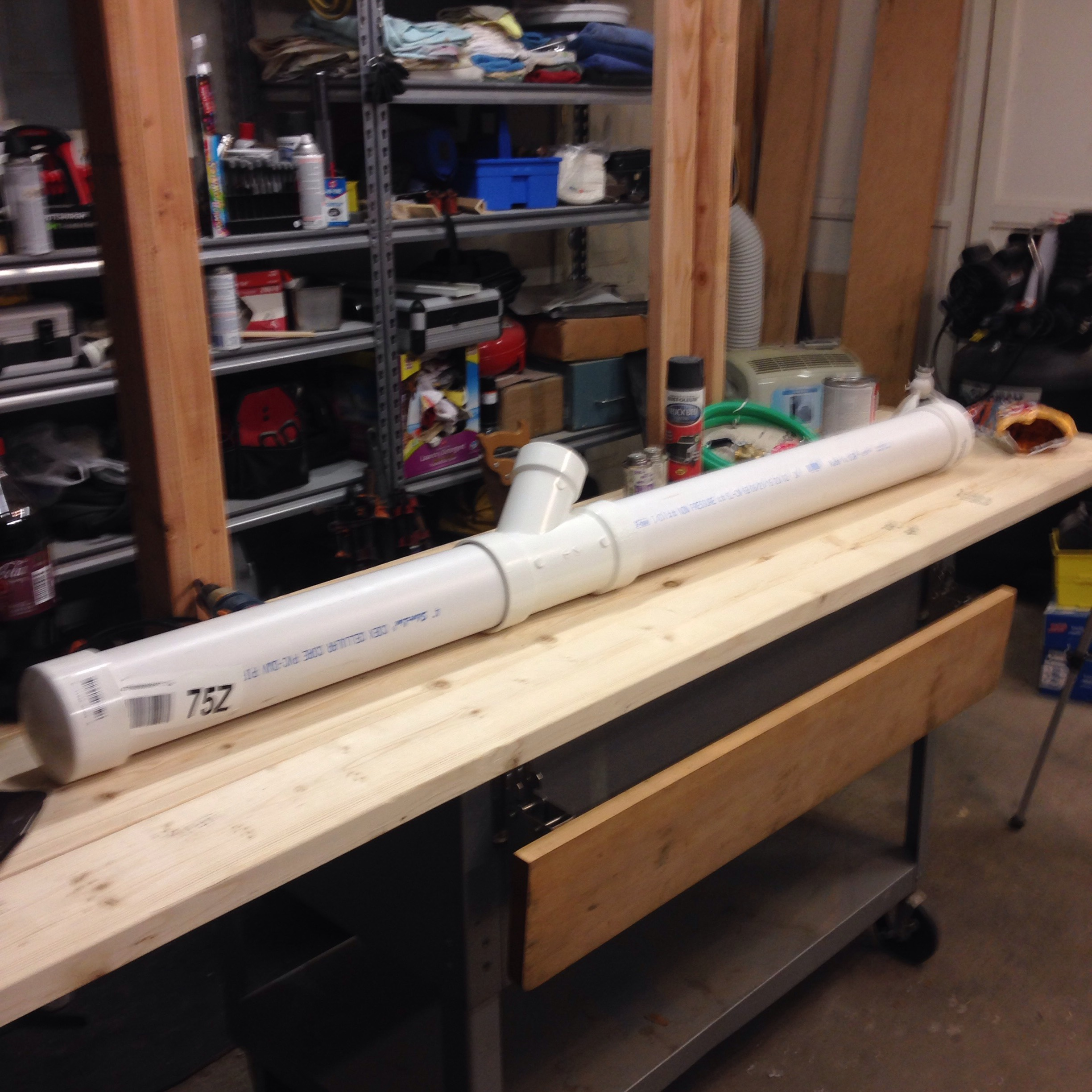 Picture of Assemble Pieces for Fit.