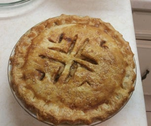 Bourbon Caramel Apple Pie With Rendered Bacon Fat Crust