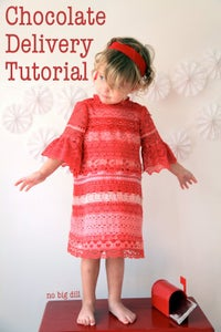 The Chocolate Delivery Dress Tutorial