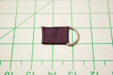 Making the D-ring Tabs