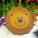 DIY Leather Name Tag