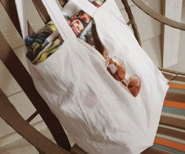 From pillowcase to handy tote