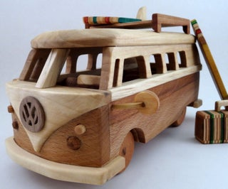 How to Make a Wooden Toy Volkswagen Bus