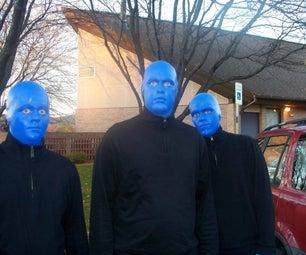 Blue Man Group Trunk & Drumbone