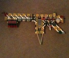 Knex Pump Action Shotgun (Build)