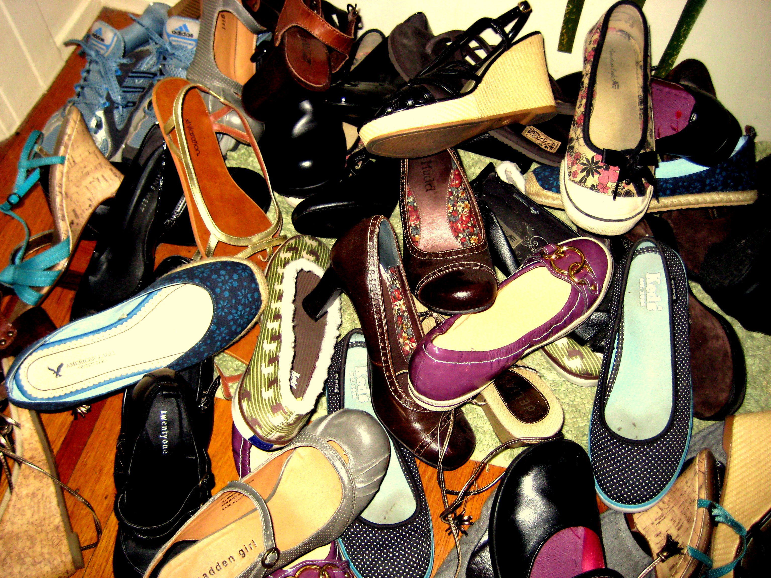 Picture of Girls Just Wanna Have.. Another Shoe Rack