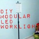 DIY Mobile Modular LED Worklight + Battery Pack From E-Waste