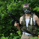 Homemade M40 Gas Mask using spare parts