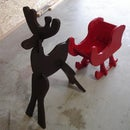 How-To: Build a Holiday Reindeer and Sleigh For $15
