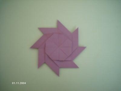 Transforming Post-It Note Ninja Star