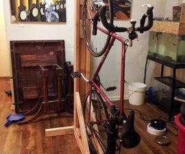 Vertical Bike Rack From 2x4s (single Bike)
