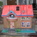 Barbie House with solar