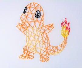 String Art Pokemon