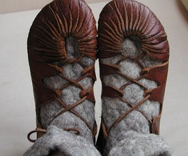Iron age shoes (previous 'viking shoes')