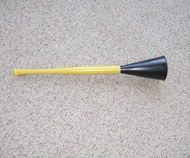 How to make a Vuvuzela cheap!