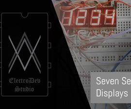 4 Digit Seven Segment With Arduino