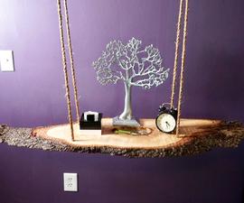 Hanging Table Nightstand
