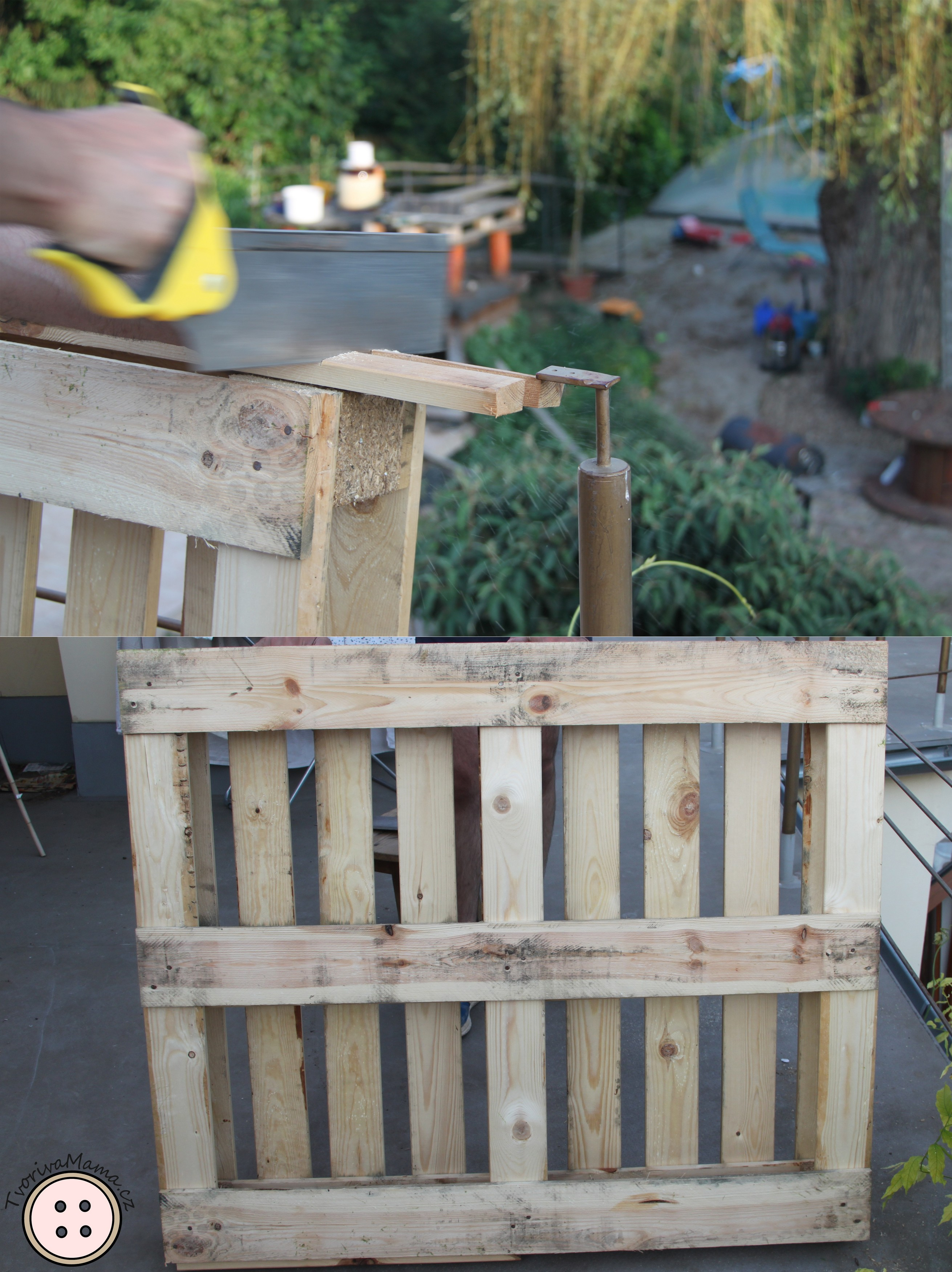 Picture of Preparing the Pallet