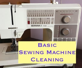 Basic Sewing Machine Cleaning